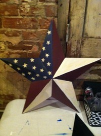 Barn star to be painted on July 3